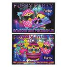 Альбом для рисования А4, 20 листов на клею Furby, блок 100г/м2, МИКС