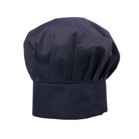 Колпак повара, 58 х 60 см, цвет чёрный Ош