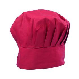 Колпак повара, 58 х 60 см, цвет бордовый Ош