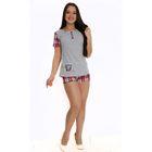 Комплект женский (футболка, шорты) ТК-310 МИКС, р-р 42