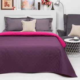 Покрывало Этель Ультрастеп Краски сна, размер 150х215 см, цвет малиново-фиолетовый, 90 г/м2