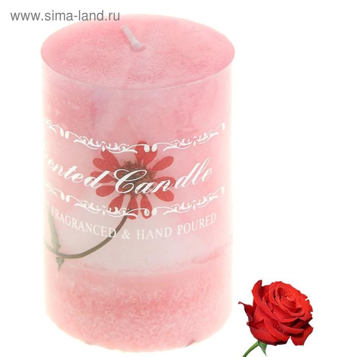 """Свеча восковая """"Искренность"""", аромат роза"""