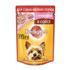 Влажный корм Pedigree для собак мини пород, ягненок, пауч, 85 г