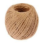 Шпагат джутовый 60 м, d=1,5 мм, скрученный, цвет натуральный