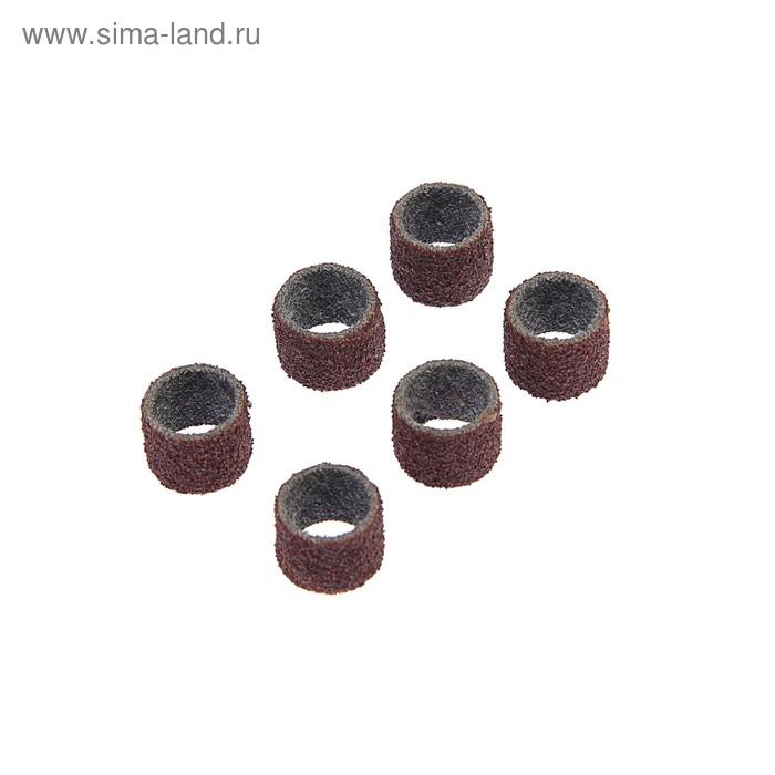 """Лента """"ЗУБР"""", абразивная, посадка d=12.5 мм, L=12.7, P 80, 6 предметов"""