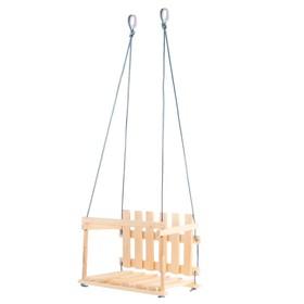 Качели детские 'Садовые', сидение: 45 × 35 см, высота спинки: 27 см Ош