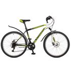 "Велосипед 26"" Stinger Caiman D, 2017, цвет зелёный, размер 20"""