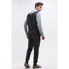 Комплект мужской (фуфайка, брюки) М-790-05 цвет серый, р-р 54