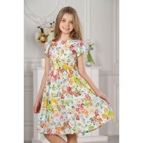 Платье детское, разноцветное, размер 28, рост 98