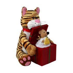 """Мягкая музыкальная игрушка """"Кот и Мышка"""""""