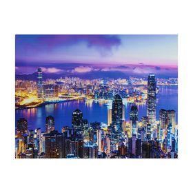 Картина на подрамнике 'Ночной мегаполис' Ош