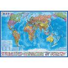 Карта Мира Политическая, 101*61см, 1:35 млн., КН025