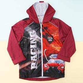 """Куртка для мальчика Collorista """"Racing"""" рост 98-104 см (30), 3-4 года"""