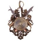 Сувенирное оружие «Геральдика» с изображением медузы Горгоны, сабля и две алебарды