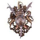 Сувенирное оружие «Геральдика», сабля и две алебарды