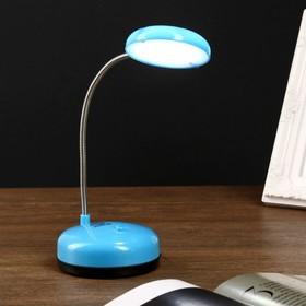 Лампа настольная LEDх7 от батареек 'Сочная' МИКС 18х8х8 см Ош