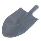 Лопата штыковая, рельсовая сталь 38–45 HRC, тулейка 40 мм, без черенка