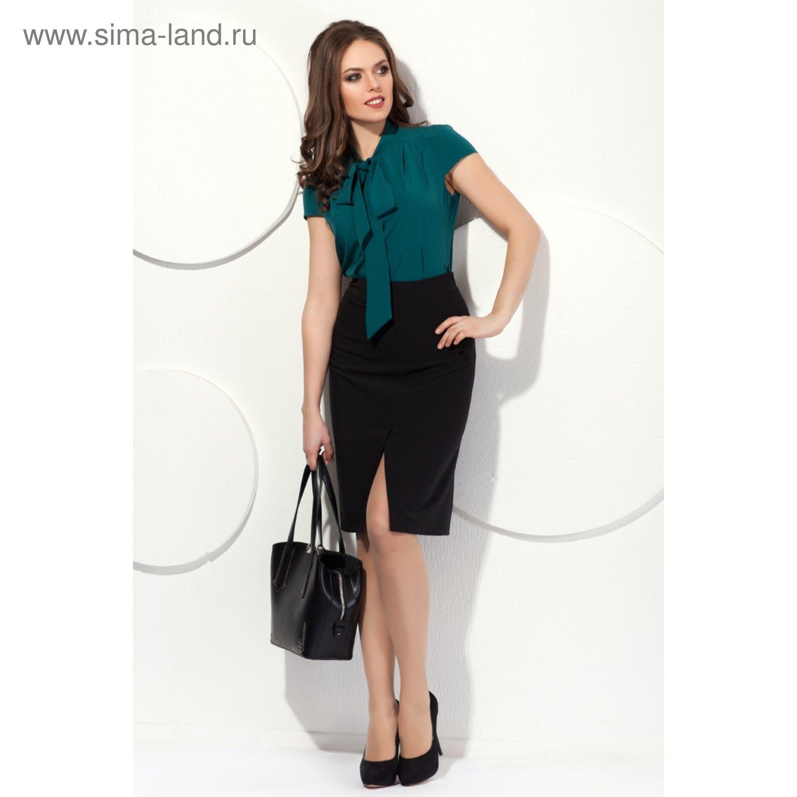 Юбка женская, размер 48, цвет чёрный Ю-169 (2337777) - Купить по ... 977677c1f92