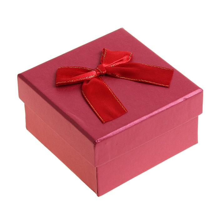 """Коробка подарочная """"Классика"""", цвет красный"""
