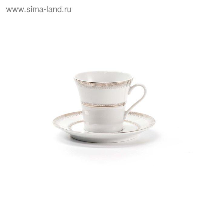 Набор кофейных пар Princier Platin, 12 предметов