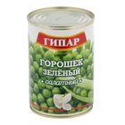 """Горошек зеленый салатный """"Гипар"""" банка №46 400г"""