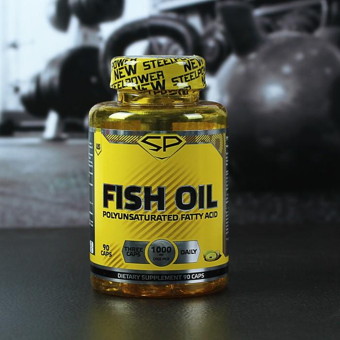 FISH OIL (рыбий жир-Омега3) 90 капсул