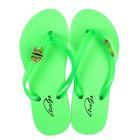Пантолеты пляжные детские арт. BCF50211 (зеленый) (р. 31)