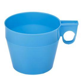 Кружка детская пластиковая, 250 мл, цвет голубой Ош