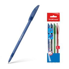 Набор ручек шариковых микс 4 цвета Erich Krause R-101 Medium 1.0мм синяя, черная, красная, зеленая 33517