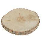 Спил осины, шлифованный с одной стороны, диаметр 20-25 см, толщина 2-3 см