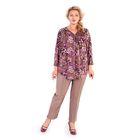 Блуза женская 17-m23-38/0198, размер 64, цвет розовый
