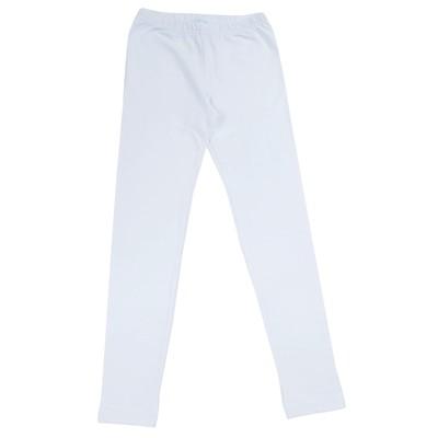 Легинсы для девочки, рост 158 см, цвет белый 170137