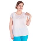 Блуза женская 17-m234-70/1, размер 60, цвет белый