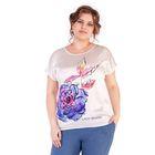 Блуза женская 17-m215-49/1, размер 64, цвет белый