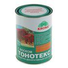Состав защитно-декоративный для древесины Тонотекс Krona, махагон, 0,9 л