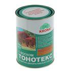 Состав защитно-декоративный для древесины Тонотекс Krona, орех, 0,9 л