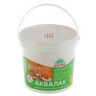 Лак защитно-декоративный для древесины Аквалак Krona, сосновый лес, 3 л