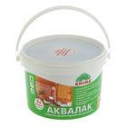 Лак защитно-декоративный для древесины Аквалак Krona, летний дуб, 3 л