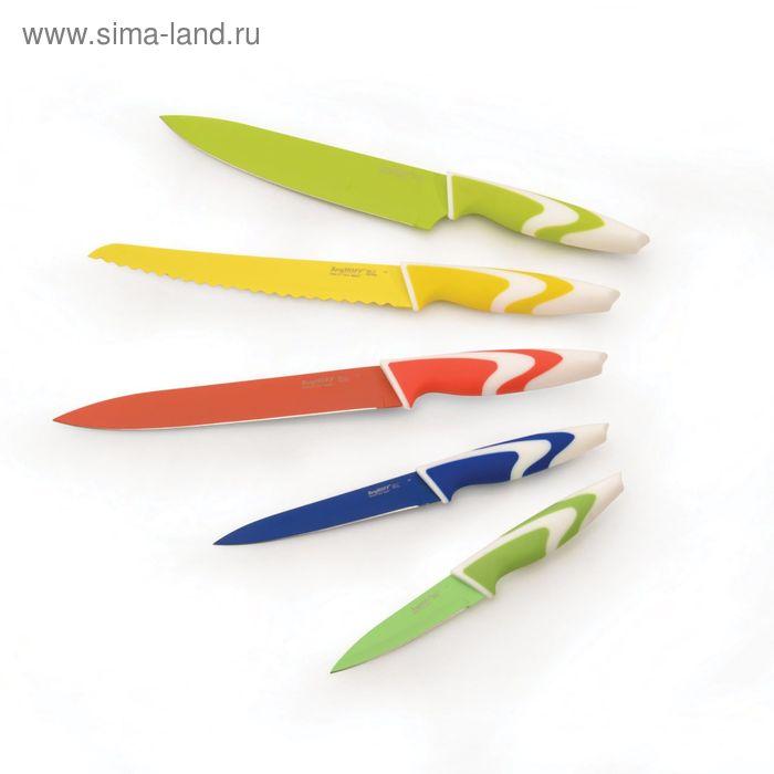 Набор ножей с керамическим покрытием Studio, цвет разноцветные, 4 предмета