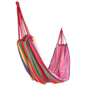 Гамак с москитной сеткой, размер 200 х 150 см, цвета микс Ош