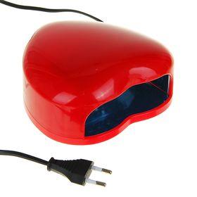 Лампа для гель-лака Luazon LUF-03, LED, 3 Вт, 28 светодиодов, красная Ош