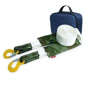 Динамический строп, рывковый Tplus 6 т 5 м серия 'Туризм' Крюк/Крюк + сумка, T007144 Ош