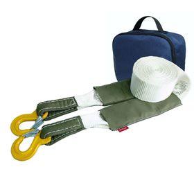 Динамический строп, рывковый Tplus 4.5 т 5 м серия 'Туризм' Крюк/Крюк + сумка, T007140 Ош