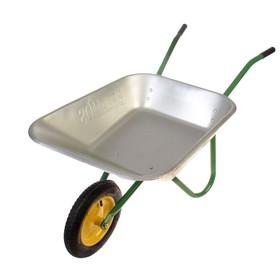 Тачка садовая, одноколёсная (груз/п 80 кг, объём 85 л, пневмоколесо 380 мм)