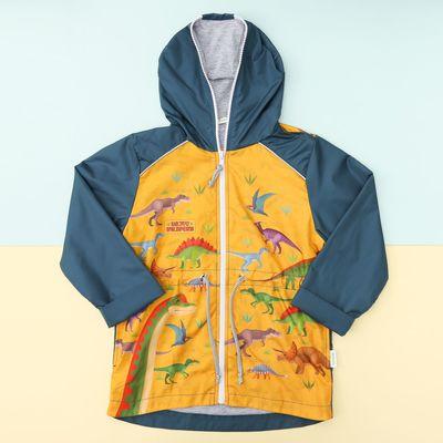 """Куртка детская Collorista """"Динозавры"""" рост 98-104 см (30), 3-4 года"""