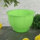 Кашпо с поддоном 0,65 л Diana, цвет зеленый