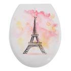 """Сиденье для унитаза """"Париж"""", цвет белый"""