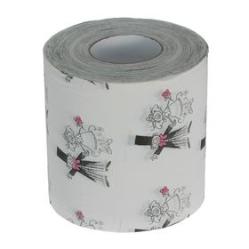 """Туалетная бумага - прикол """"Свадебный узор"""""""
