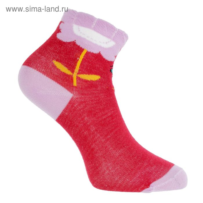Носки детские Ft-517-5, р-р 20-22, цвет красный
