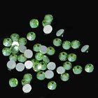 Стразы для ногтей PERIDOT, №3, цвет светло-зелёный